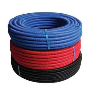 PE-Xc pipe with conduit